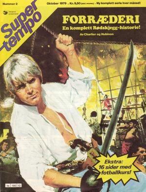 """""""Forræderi (En komplett Rødskjegg -historie!) - Super Tempo 2-1979"""" av Charlier"""