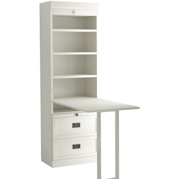 Murphy bed bookcase with drop down table and bottom for Fold down desk table