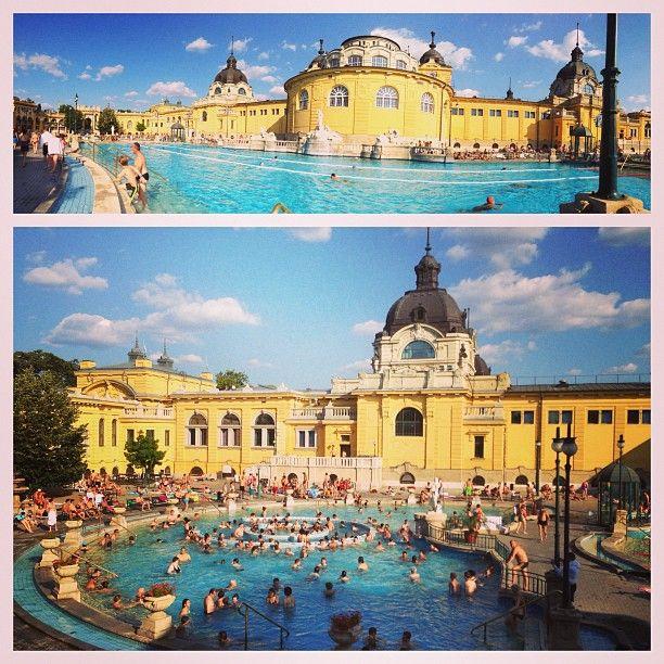 Széchenyi Gyógyfürdő és Uszoda in Budapest