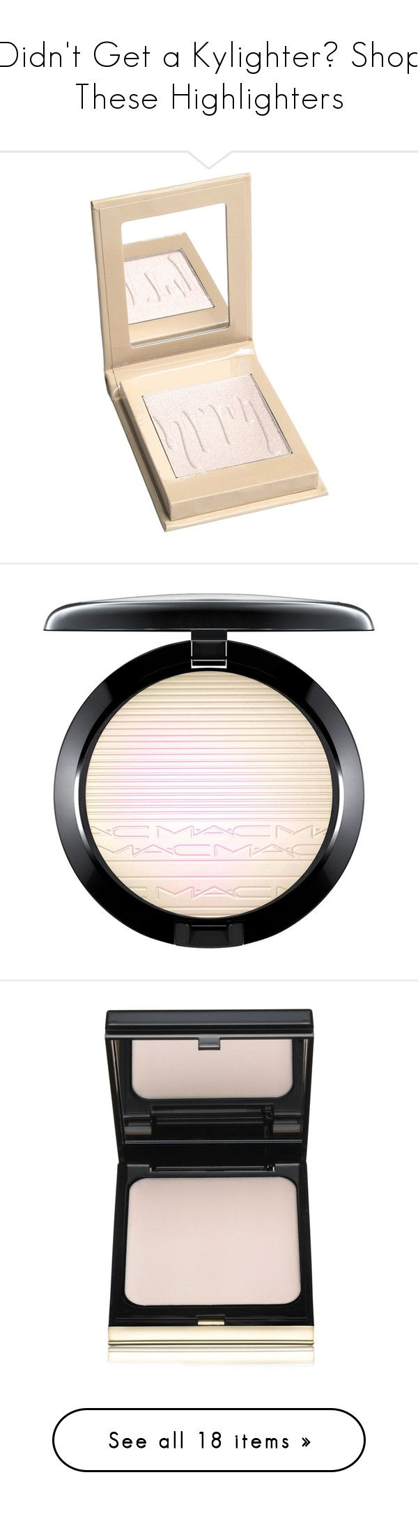 """""""Didn't Get a Kylighter? Shop These Highlighters"""" by polyvore-editorial ❤ liked on Polyvore featuring KylieJenner, highlighters, makeup, beauty products, face makeup, beauty, cosmetics, faces, fillers and backgrounds"""