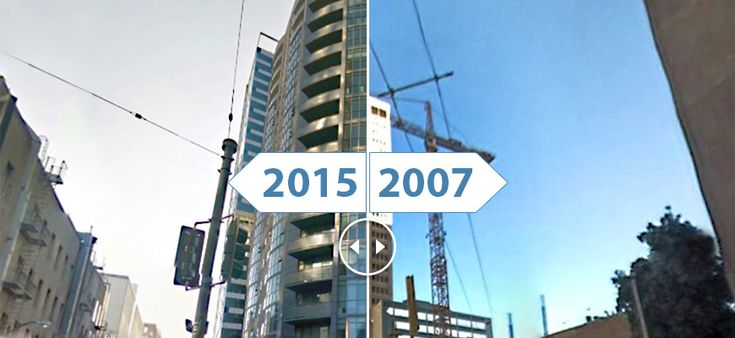 10 Time Lapse Photos Of San Francisco S Changing Skyline Time Lapse Photo Amazing Transformations San Francisco