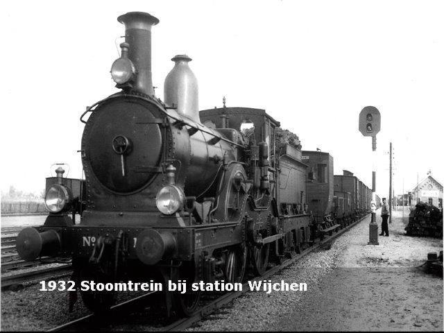 Stoomtrein station Wijchen