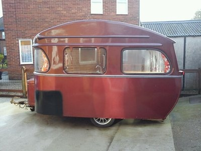 1960/61 Classic Constructum Caravan from the UK