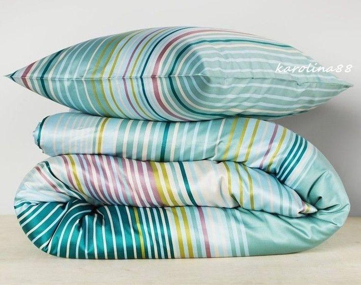 Ikea Palmlilja Turquoise Duvet Quilt Cover Full   Queen Satin Retro Stripes  NIP. 236 best                           images on Pinterest   Duvet