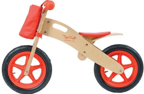 Wooden Balance Bike – Earth Toys