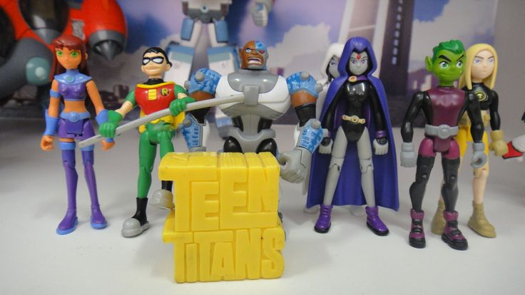 Teen Titan Toy : Teen titans go action figures google search
