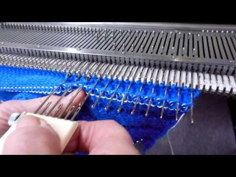 (9) Corrugated Mittens on the Knitting Machine by Carole Wurst - YouTube
