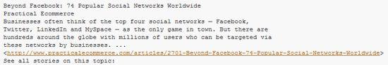 De Archivo: Las 74 redes sociales más populares del planeta, organizadas por temas de Interés