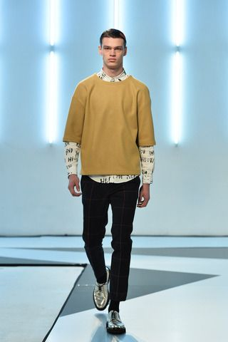 MSGM Fall 2014 Menswear Collection Slideshow on Style.com