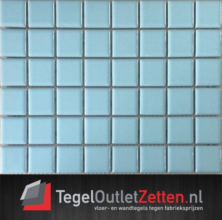 Zroblamozaiekglansblauw125x25mm koopt u voordelig bij TegelOutlet Zetten
