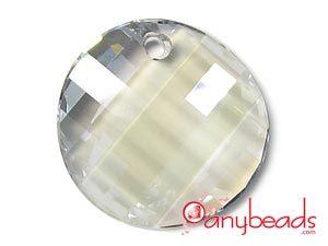 Moonlight - Austrian Swarovski Crystal Elements 6621 Twist Pendant 28mm