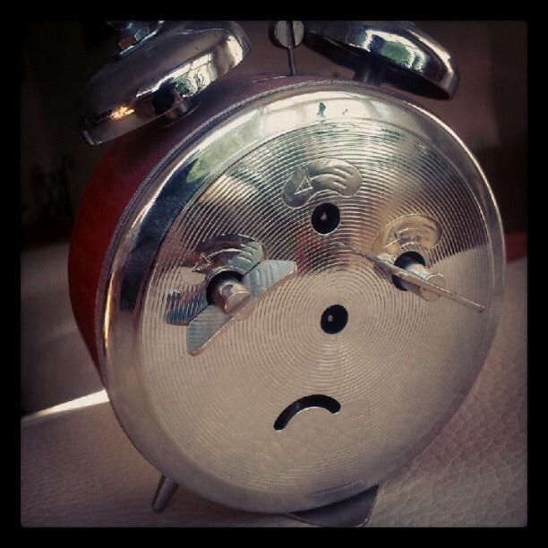 La tristeza del paso del tiempo