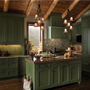 Green Country Kitchen. Interesting Top Slate Flooring Kitchen Rafael ...