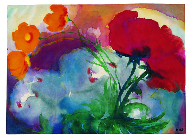 Emil Nolde, 'Mohn,' Undated, Louisiana Museum of Modern Art