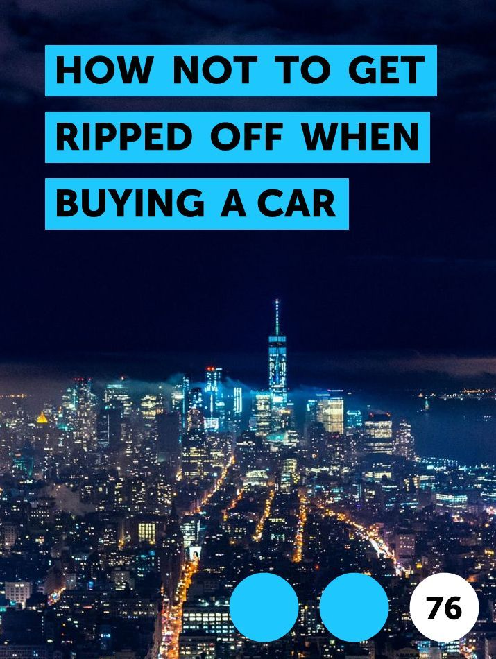 How Not To Get Ripped Off Buying A Used Car