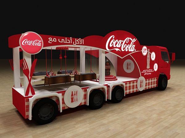 Coca Cola الأكل أحلى مع on Behance