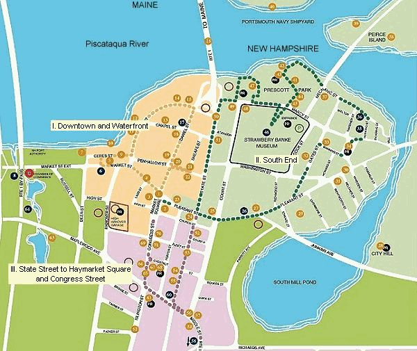 Apartments In Maine New Hampshire: Follow The Portsmouth New Hampshire Harbour Trail. Yes