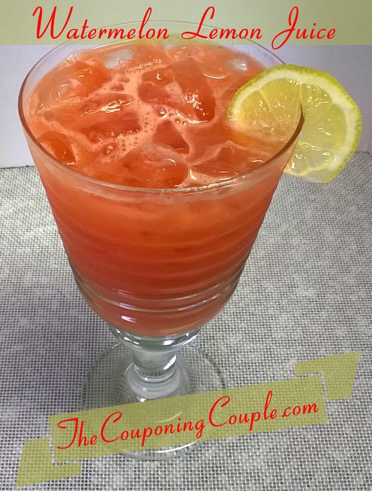 Watermelon lemon juice viagra