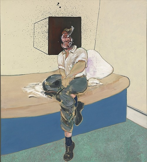 Francis Bacon's body turns out to be Lucian Freud's in self-portrait
