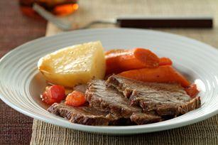 Braised Pot Roast and Vegetables Recipe - Healthy Living Kraft Recipes