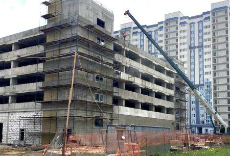 Главгосстройнадзор проверил ход строительства надземного паркинга в Домодедово - Сайт города Домодедово
