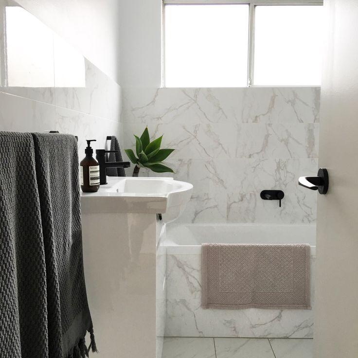 Luke's bathroom renovations recently completed bathroom in Carlton, Sydney