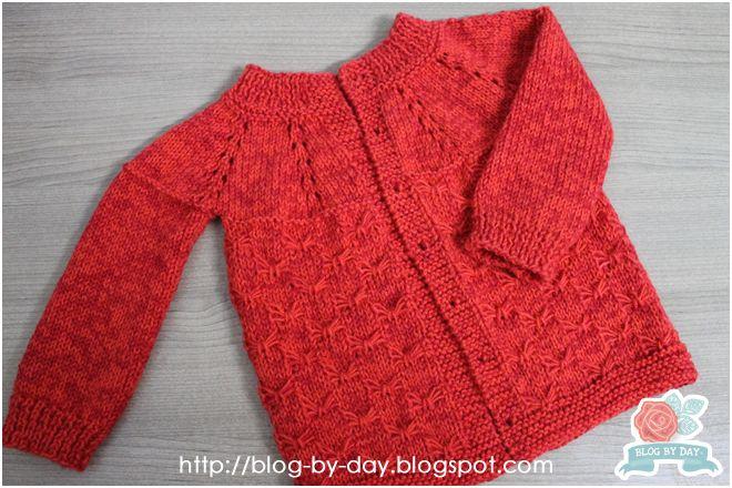 Blog By Day: Casaquinho Vermelho de 1 Aninho