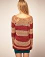 Enlarge Free People Stripe Jumper in Mixed Yarns