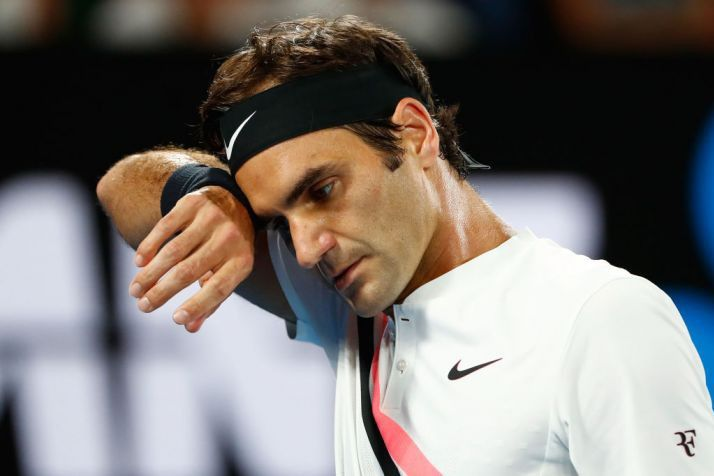 Roger Federer contempating on competing in French Open