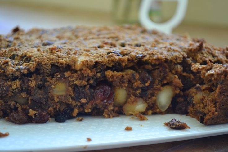 Christmas Cake (Gluten, Egg, refined sugar and optional dairy free)