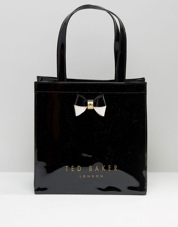 Imagen 1 de Bolso negro con icono pequeño de Ted Baker