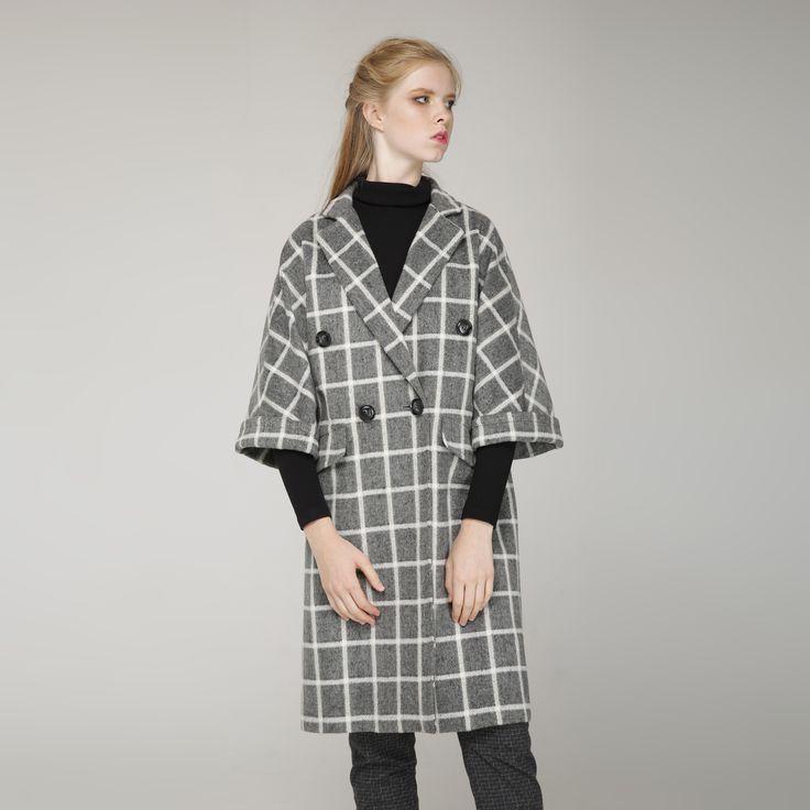 УКОРОЧЕННОЕ ПАЛЬТО «BE YOURSELF» нежный образ, модную клетку, уют и тепло в холодную погоду, удобные кармашки, универсальность и комфорт. Состав: 60% шерсть, 20% кашемир,20% акрил  Подкладка: 30% вискоза, 70% полиэстер #украина #сестры-дизайнеры #платье-рубашка #классика #бренд #свободный крой #красота #Fashion #style #beauty   #пальто #клетка #осень #мода# #стиль #хлопок #umm  # #мода #baby doll #бежевый #женская одежда #coat #grey