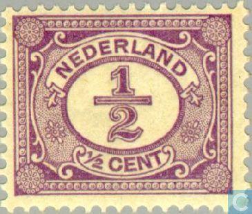 Stamps - Netherlands [NLD] - Digit-type ' Vürtheim ' 1899