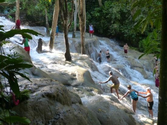 Dunn's River Falls, Ocho Rios, Jamaica