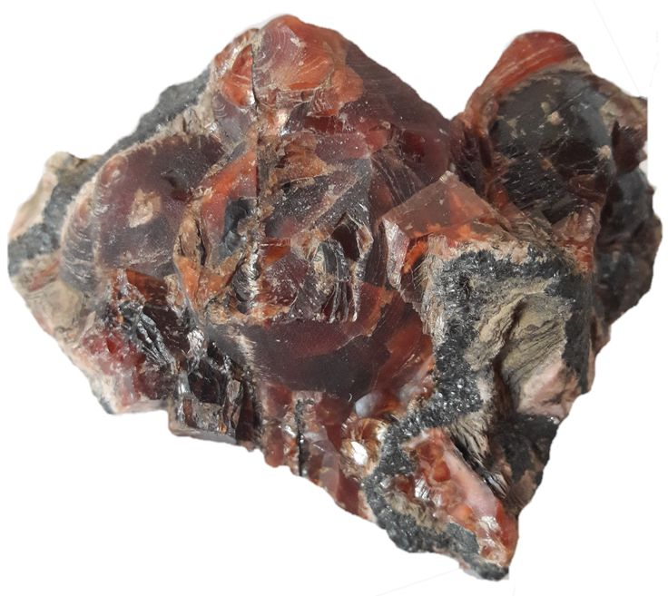 Oxblood Rhodochrosite from Wessels mine - Part of the Cape Minerals private collection!