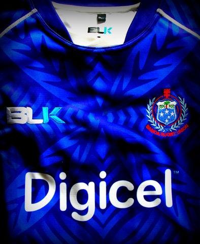 $NZD129.00 Manu Samoa Jersey – Home (Blue)