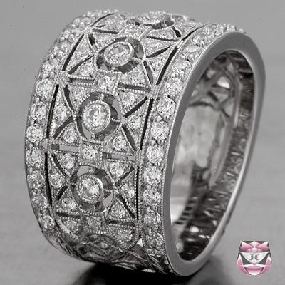 Art Deco trouwring #bruiloft #wedspiration #20's