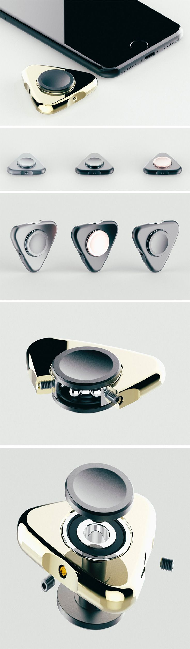 Counteract your ADHD in style with the Massdrop x RAMA WORKS S01 Remedy Spinner! It's the elite version of the favorite toy everyone from 3 to 65 can use to stay focused! Designed to help you focus by keeping your hands engaged, it's crafted with CNC'd 6061 aluminium end caps surrounded by a free-spinning piece of brass or aluminium.