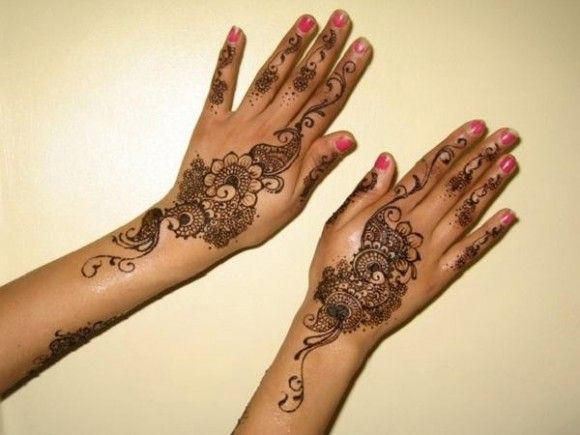 Simple Mehndi Designs For Hands For Beginners : Mehndi Designs Latest Mehndi Designs and Arabic Mehndi Designs