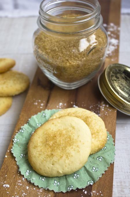 Biscotti al limone  (Lemon butter biscuits)