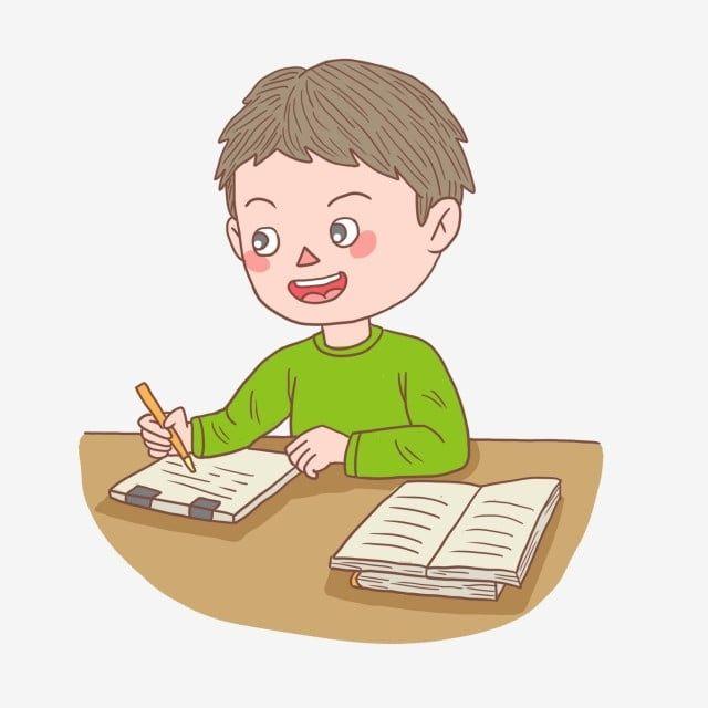 Gambar Anak Kartun Yang Ditarik Tangan Lelaki Menulis Kerja Rumah Budak Clipart Kartun Tangan Dicat Png Dan Psd Untuk Muat Turun Percuma In 2021 How To Draw Hands Cartoon Posters Character Illustration