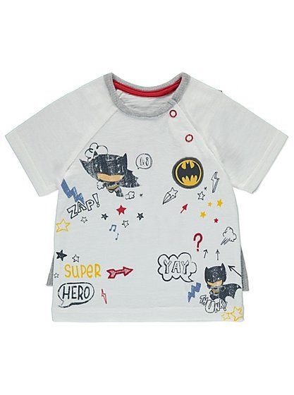 DC Comics Batman Top, read reviews and buy online at George at ASDA. Shop from our latest range in Baby. We know occasionally their cape has to be sent for w...