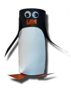 Toilet Paper Roll Penguin @Kate Hawk