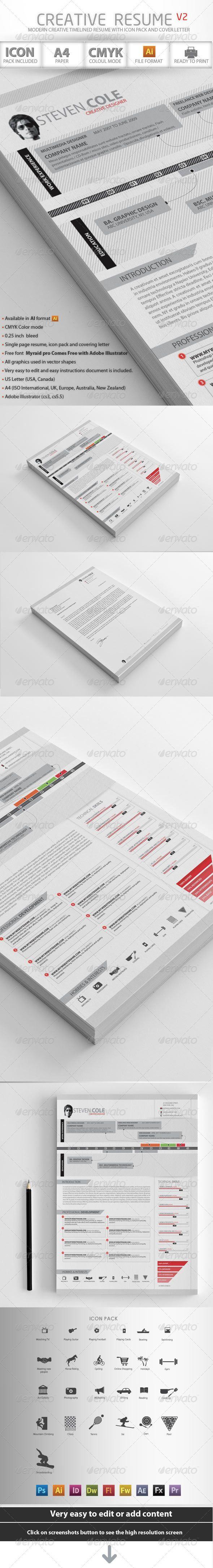 Un cv simple et efficace. Un design épuré tout en nuances de gris.