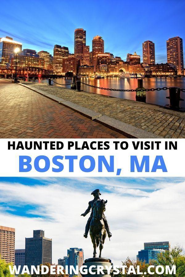 Spooky Destination Guide Boston In 2020 Alberta Travel Haunted