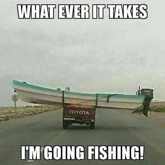 This will be me on friday! 😂 Kinda broke my trailer's axle so might have to be fixing that before I could go fishing 😂😂🎣🐟 Don't ask.. 😂😂😂👌🐟🎣Like and share this with your friends! 😊🐟🎣 #fishingplace #fishing #fishermen #weekend #fishingplacecom #trailer #boat #fish #catch #friday #broke #broken #axle #wheel #funny #fishing #flyfishing #fishinglife #fishingtrip #fishingboat #troutfishing #sportfishing #fishingislife #fishingpicoftheday #fishingdaily #riverfishing…