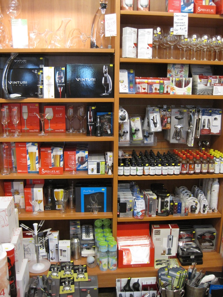 Stocking up on our Barware...A great selection of glasses, openers, decanters and all sorts of little goodies (Whiskey Stones?)
