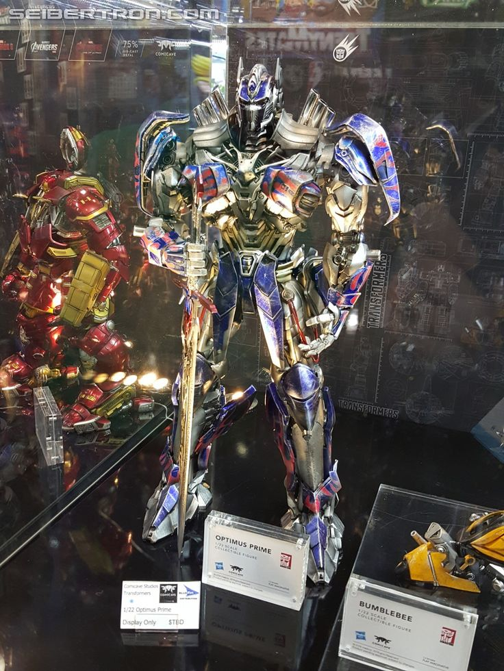 Transformers News: Toy Fair 2016 - Comicave Studios Transformers Collectable Figures #HasbroToyFair #TFNY