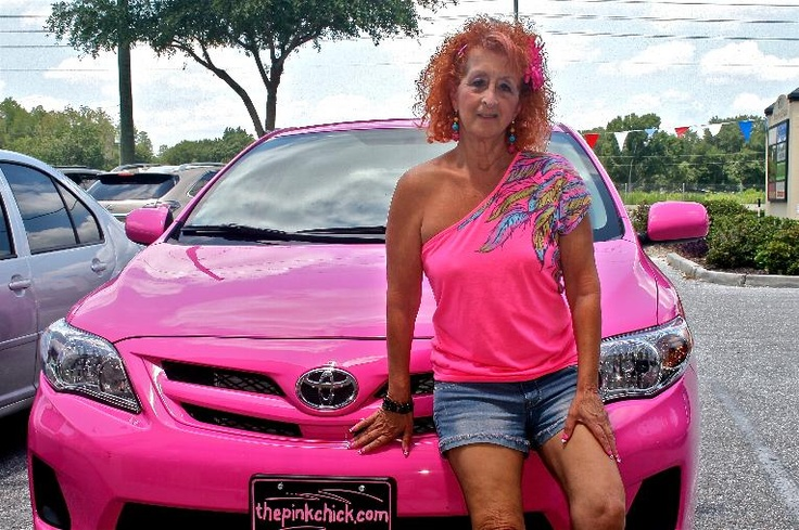 My Brand New Hot Pink 2012 Toyota Corolla It Matches My