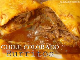 The Bestest Recipes Online: Chile Colorado Burritos